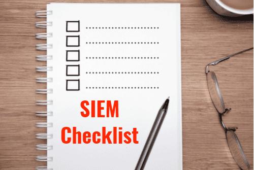 SIEM Checklist
